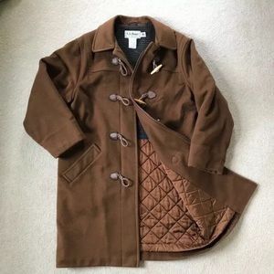 LL Bean Vintage Toggle Coat